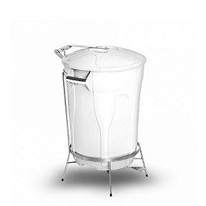 Lixeira Plástica com Pedal de Aço | 100L