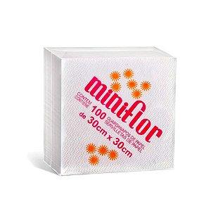 Guardanapo 30x30 | Miniflor | Pacote com 100 Folhas