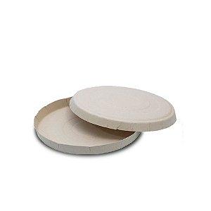 Caixa para Pizza Branca 35cm | 25 Unidades