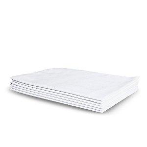 Flanela Branca Grande | 38x58cm
