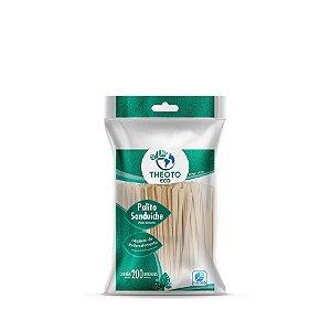 Palito para Sanduiche | Caixa com 100 Pacotes de 200 Unidades