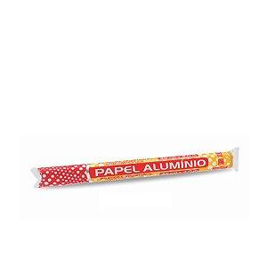 Rolo de Papel Alumínio 45cmx4m | Thermoprat | Caixa com 25 Unidades