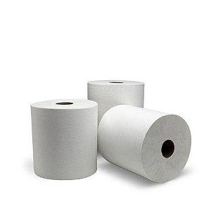 Bobina Toalha 100% Celulose | 20cmx100m | Fardo com 8 Unidades