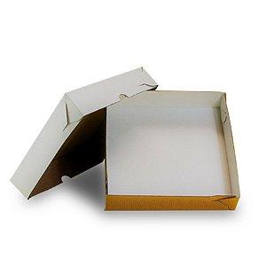 Caixa de Papelão para Salgados 40x40