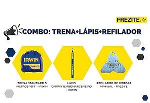 COMBO DA SEMANA: TRENA + LÁPIS + REFILADOR