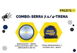 COMBO DA SEMANA: SERRA 7.1/4 = TRENA PROFISSIONAL