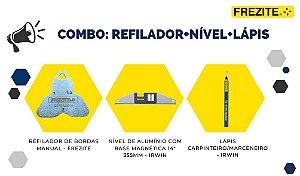COMBO DA SEMANA: REFILADOR + NÍVEL + LÁPIS