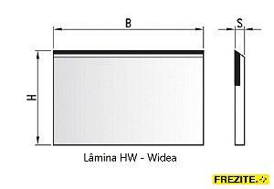 LÂMINA PARA APLAINAR EM HW - WÍDEA (400mm)