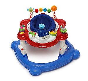 Andador Infantil Para Bebê Funny Galzerano Color