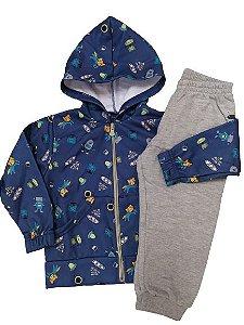 Conjunto infantil menino casaco + calça Dila (15702259)