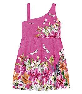 Vestido em renda floral Trick Nick (1116302)