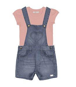 Jardineira jeans menina Trick Nick (1189481)