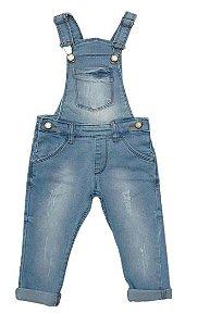 Jardineira jeans menino Fofinho (421757)