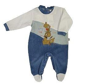Macacão longo em plush Baby Beka  (BK265)