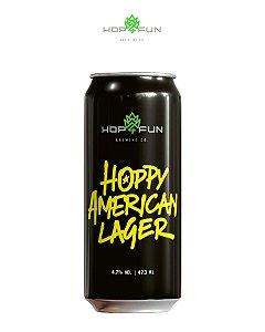 HOPPY AMERICAN LAGER - LATA 473 ML