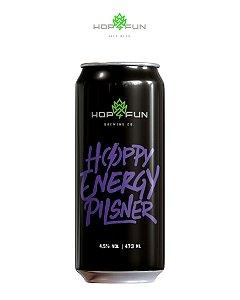 HOPPY ENERGY PILSNER - LATA 473 ML