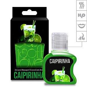 Gel Comestível Hot 30ml Soft Love Caipirinha