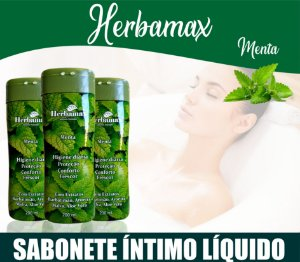 Sabonete Íntimo Herbamax Menta 200ml