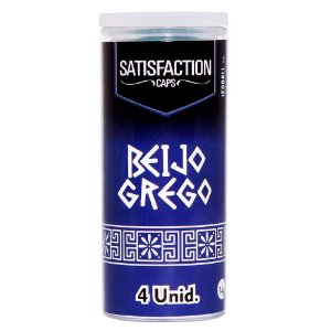 BOLINHA BEIJO GREGO 04 UNIDADES SATISFACTION