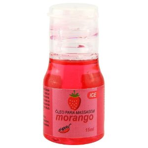 GEL COMESTIVEL ICE 15ML CHILLIES  MORANGO