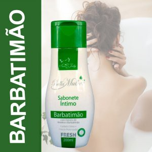 Sabonete Íntimo Barbatimão 200ml San Jully