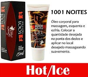 1001 NOITES GEL ESQUENTE ESFRIA 15ML SECRET LOVE (VEG1)