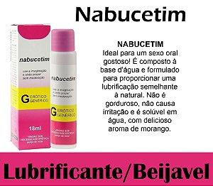 NABUCETIM LUBRIFICANTE AROMÁTICO 18ML SECRET LOVE (VEG36)