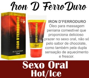 IRON D'FERRODURO LUBRIFICANTE 15ML SECRET LOVE (VEG35)