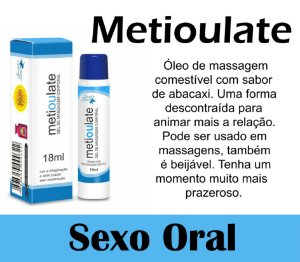 METIOULATE LUBRIFICANTE BEIJÁVEL 18ML SECRET LOVE (VEG28)