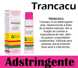 TRANCACU EXCITANTE ANAL 18ML SECRET LOVE (VEG19)