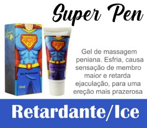 SUPERPEN GEL INTENSIFICADOR DE EREÇÃO 15ML SECRET LOVE (VEG13)