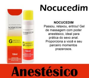 NOCUCEDIM GEL DESSENSIBILIZANTE 18ML SECRET LOVE(VEG55)
