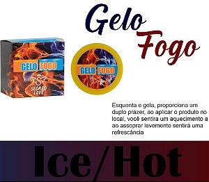 POMADA GELO E FOGO 10 G SECRET LOVE (VEG4)