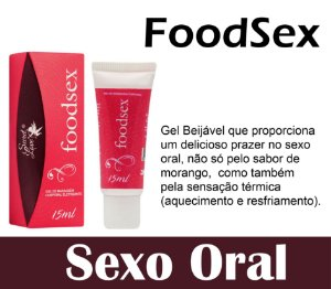 FOODSEX GEL BEIJÁVEL HOT ICE 15ML SECRET LOVE (VEG3)