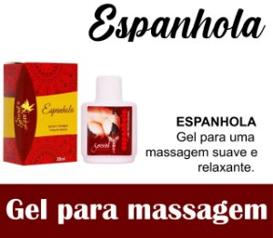 ESPANHOLA GEL COMESTÍVEL 30ML SECRET LOVE(VEG57)