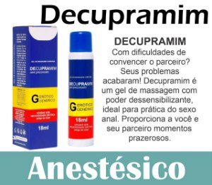 DECUPRAMIM DESSENSIBILIZANTE ANAL 18ML SECRET LOVE(VEG62)