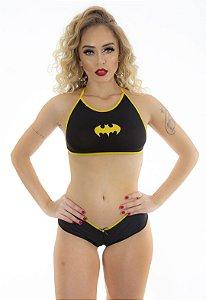 Mini Fantasia Heróis Bat Girl Pimenta Sexy