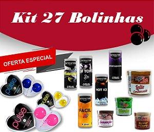 KIT  27 BOLINHAS SORTIDAS