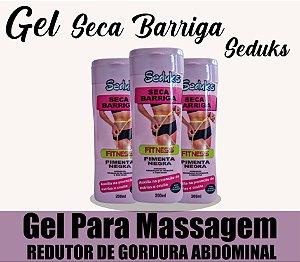 Gel Para Massagem Seca Barriga 200ml