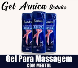 Gel Massageador Arnica 200ml