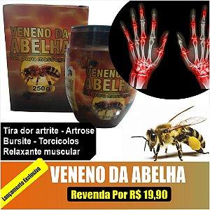 Gel Para Massagem Veneno de Abelha 250g