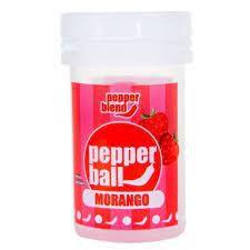 Bolinha Explosiva Comestível Pepper Ball 2 Unid Pepper Blend Morango