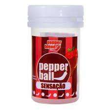 Bolinha Explosiva Comestível Pepper Ball 2 Unid Pepper Blend Sensaçaõ