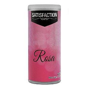 BOLINHA EXCITANTE SATISFACTION CAPS 2 UN ROSA