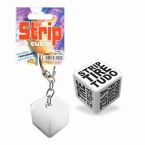 Dado Strip Tease Chaveiro 1 Unid. Diversão Ao Cubo