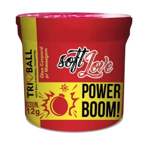 Bolinha Funcional Power Boom Triball Soft Love