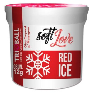 Bolinha Funcional Red Ice Triball Soft Love