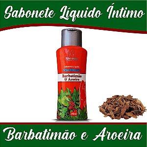 Sabonete íntimo Rhenuks Barbatimão e Aroeira 200ml