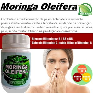Cápsulas Moringa Oleifera 300mg