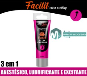 Anestésico Anal Facilit Extra Exciting 15ml Soft Love